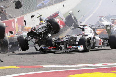 Spa Crash