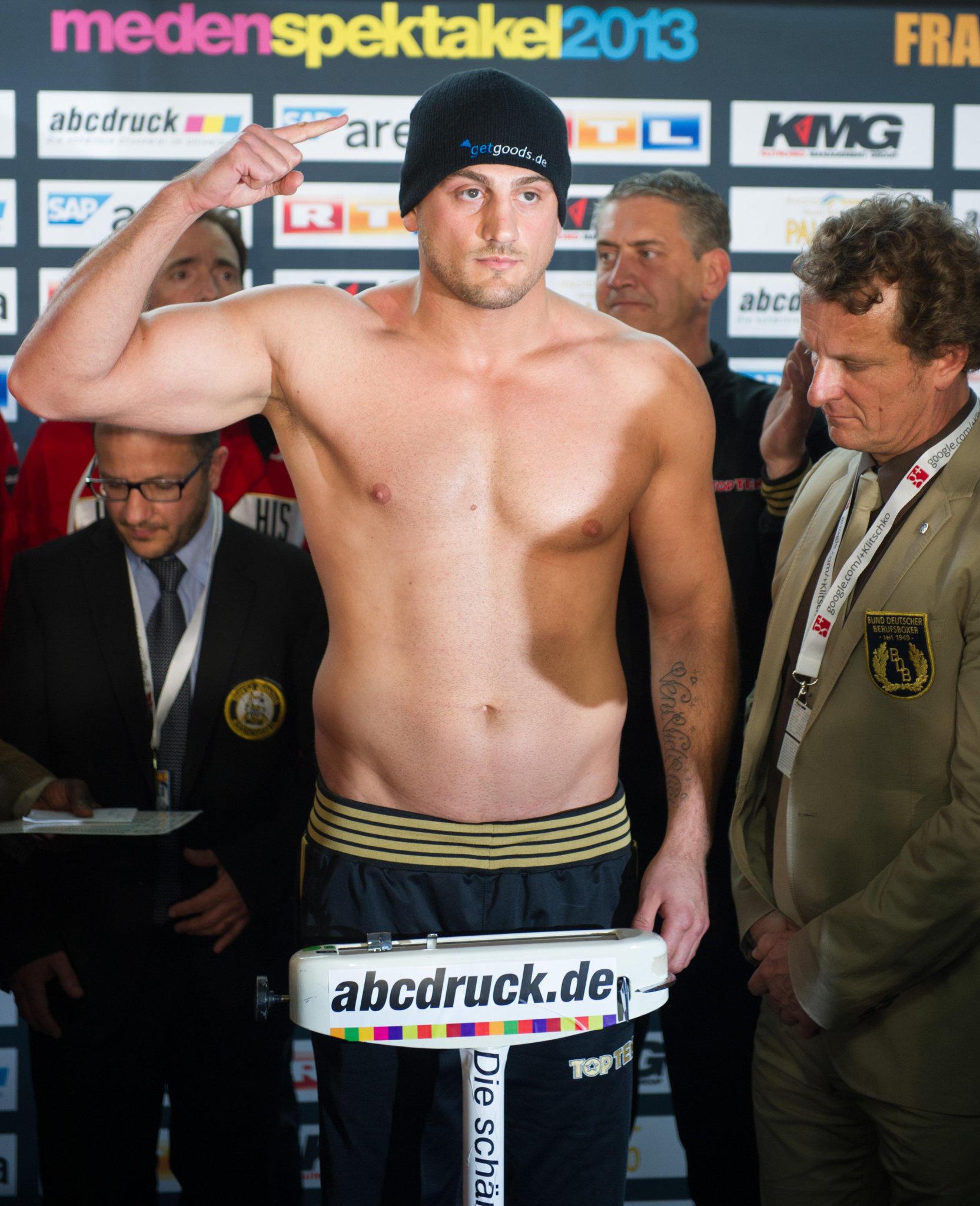 Klitschko Gewicht