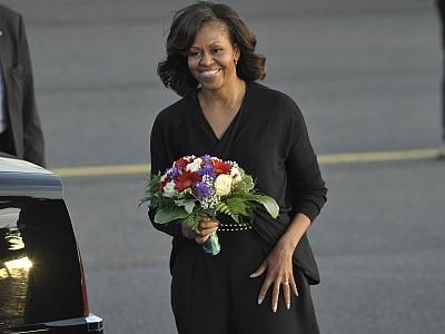Michelle Obama erobert Berlin