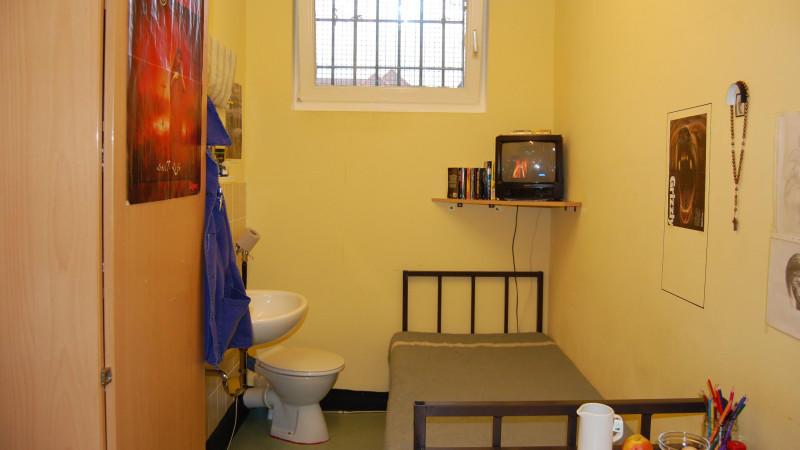 anti folter stelle video berwachung auf gef ngnis toilette. Black Bedroom Furniture Sets. Home Design Ideas