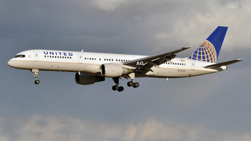 Boeing 757 von United Airlines