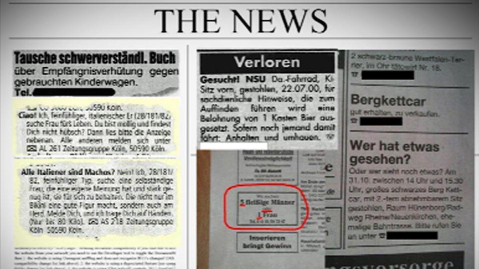 Zeitungsanzeigen er sucht sie