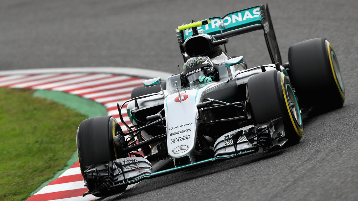 formel 1 nico rosberg rast in letzter sekunde zur pole position beim japan gp. Black Bedroom Furniture Sets. Home Design Ideas