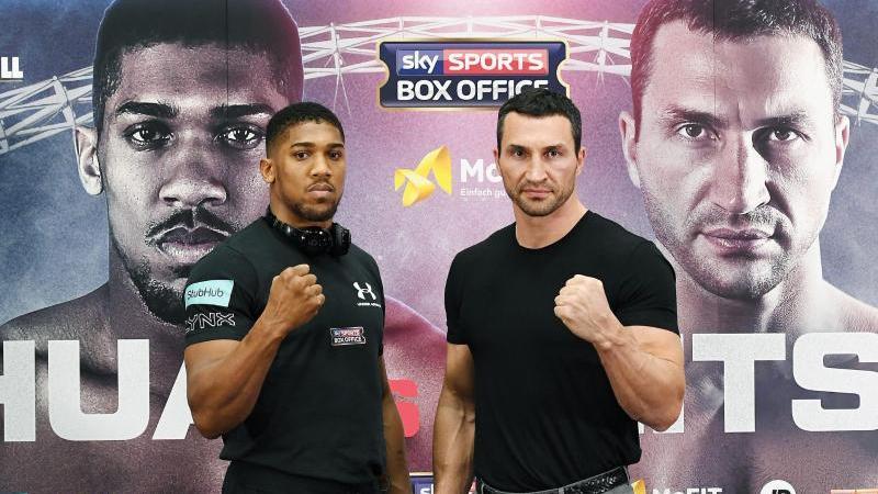 Boxen: Wladimir Klitschko gegen Anthony Joshua im RTL-Live-Stream