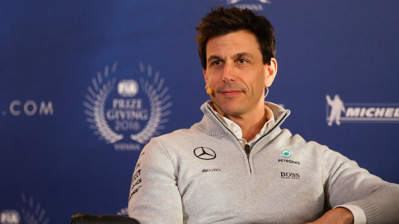 MOTORSPORTS - FIA Motorsports day VIENNA,AUSTRIA,02.DEC.16 - MOTORSPORTS - FIA, Motorsports day, press conference PK Pressekonferenz Image shows executive director Toto Wolff (Mercedes GP). PUBLICATIONxINxGERxHUNxONLY GEPAxpictures/xPhilippxBremMotor