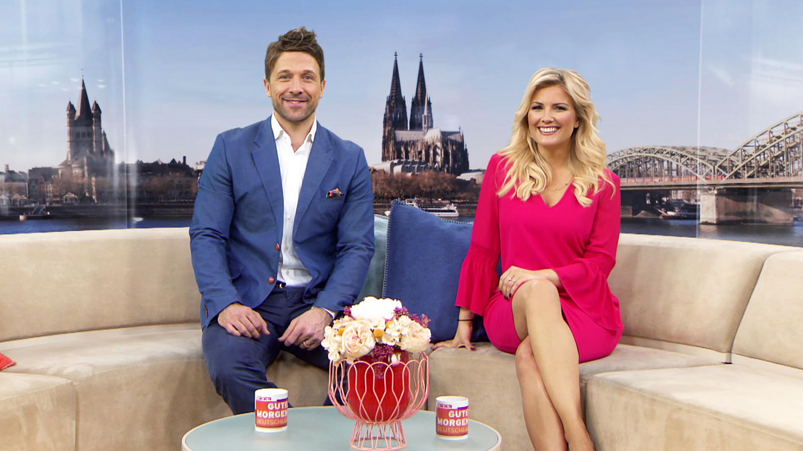 florian ambrosius verst rkt das rtl moderatorenteam von 39 guten morgen deutschland 39. Black Bedroom Furniture Sets. Home Design Ideas