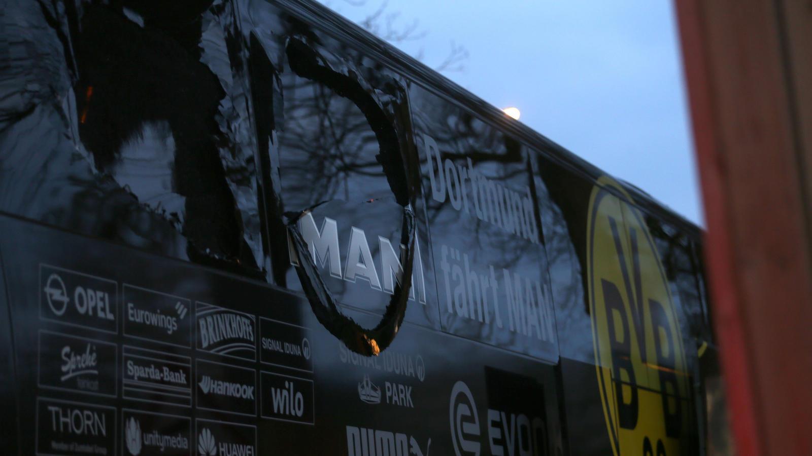 Bombenanschlag Bvb Bus