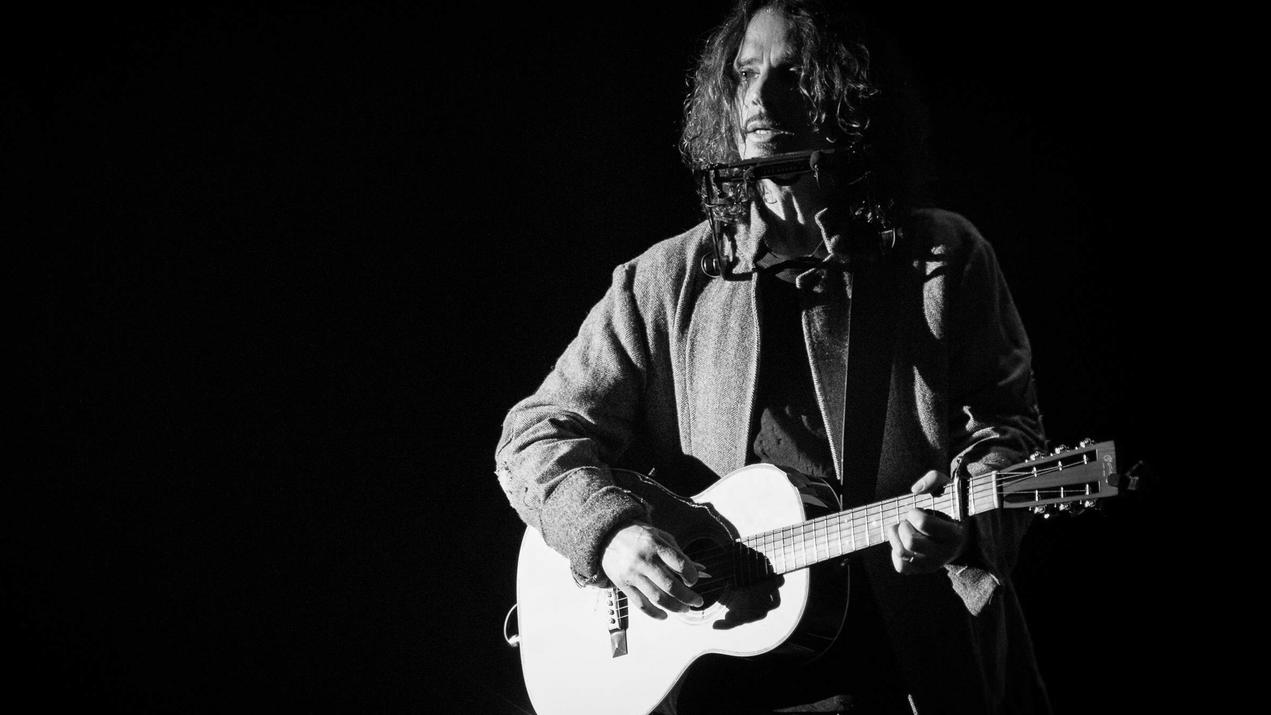 April 21, 2016 - Rome, Italy - Chris Cornell is an American musician, singer and songwriter of Soundgarden and Audioslave. April 18 2016, Roma Auditorium Parco della Musica, Italy. Rome Italy PUBLICATIONxINxGERxSUIxAUTxONLY - ZUMAn230 20160421_zaa_n2