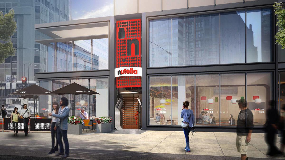 Ein Tempel für Naschkatzen - Nutella eröffnet erstes Café