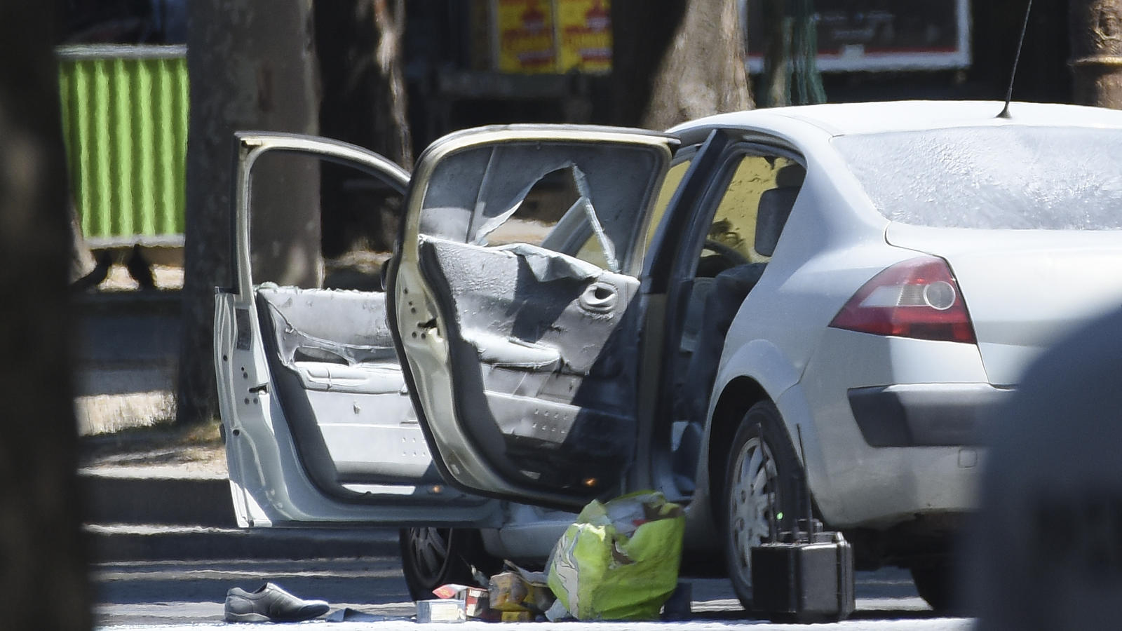 A major police operation set up after a vehicle was driven into a van of mobile gendarmes in Paris, France.