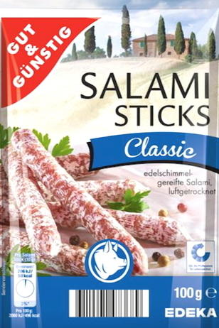 Salmonellen in Salami-Sticks