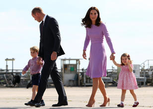William & Kate in Hamburg