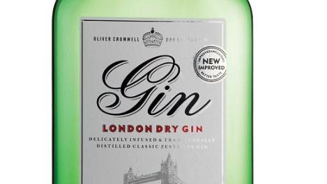 Aldi: Oliver Cromwell London Dry Gin gehört zu den besten der Welt