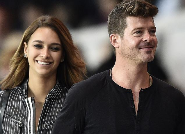 Robin Thicke wird Vater