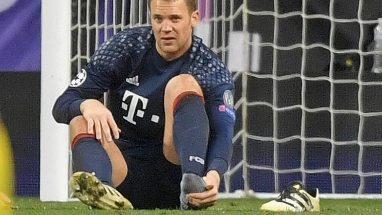 Manuel Neuer erneut am Fuß verletzt