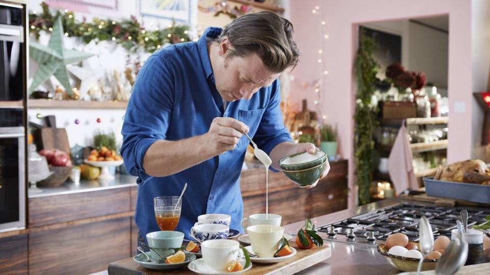 Raffiniertes Weihnachtsmenü.Jamie Olivers Weihnachtsküche Stressfreie Gerichte Präsentiert Vom