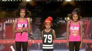 Dounya, Zaki und Demia begeistern mit Hip-Hop-Performance
