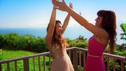 Viviana Grisafi & Erica Greenfield genießen den Moment