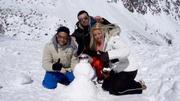 Wer baut den besten Schneemann?
