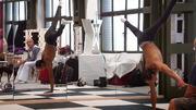 Tameru Zegeye trainiert trotz Handicap und Krücken