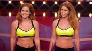 Julia und Stefanie machen die Jury fit