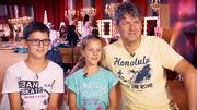Stefan, Nina und Jovica sind eine musikalische Familie