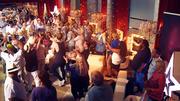 Große Party bei den Kandidaten kurz vor dem Ende