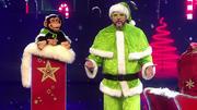 Frank Lorenz und Charly stecken mit Weihnachtslaune an