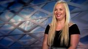 Kandidatin Jessica Holzhauer redet gern - und viel