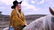 Laura van den Elzen wird zum richtigen Cowgirl