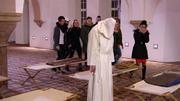 Riesenüberraschung im Kloster