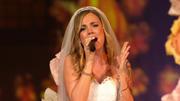 "Sandra Berger singt frisch verheiratet ""Unser Tag"""