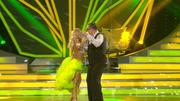 Ulli Potofski & Kathrin Menzinger zeigen eine Samba