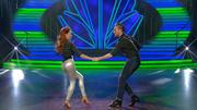 Eric Stehfest & Oana Nechiti zeigen einen Jive