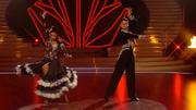 Sarah Lombardi & Robert Beitsch tanzen einen Paso Doble