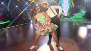 Julius Brink und Ekaterina Leonova tanzen Lindy Hop