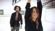 Jana Pallaske und Massimo Sinató feiern ihre Tänze