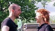"""Eric Stehfest und Oana Nechiti: """"Wir sind ein richtig gutes Team"""""""
