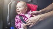 Sicher Autofahren mit Kind