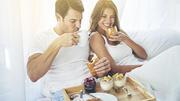 Frühstück im Bett ist super für Ihre Verdauung