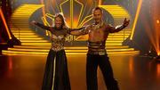 Alessandra und Sergiu mit einem feurigen Paso Doble