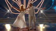 Uli Potofski und Kathrin Menzinger zeigen eine Rumba