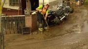 Unwetter richten in Deutschland schwere Schäden an