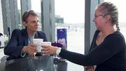 Kaffee trinken mit Wolfgang Bahro