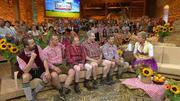 Team Bauern will Team Promi hinter sich lassen