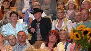 Schäfer Rainer und Bauer Gregor sind zu Gast