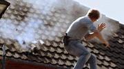 Dramatische Flucht übers Dach