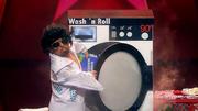 Stefan läuft beim 'Wash'n'Roll' ein