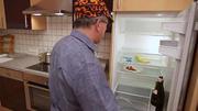 Gähnende Leere in Bertholds Kühlschrank
