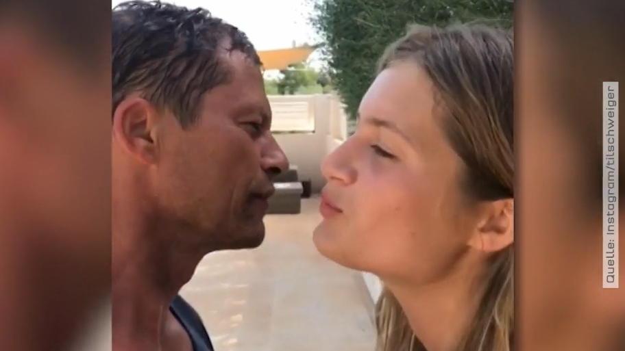 Til Schweiger küsst seine Tochter und löst einen Shitstorm aus